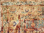 Adjajhiji Tabriz Seta firmate - Iran 19 ° secolo-3