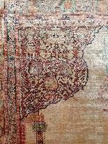 Adjajhiji Tabriz Seta firmate - Iran 19 ° secolo-4