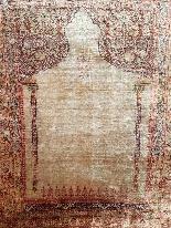 Tabriz Adjajhiji In Silk Signed - Iran 19th Century-1