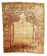 Adjajhiji Tabriz Seta firmate - Iran 19 ° secolo-0