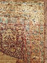 Adjajhiji Tabriz Seta firmate - Iran 19 ° secolo-2
