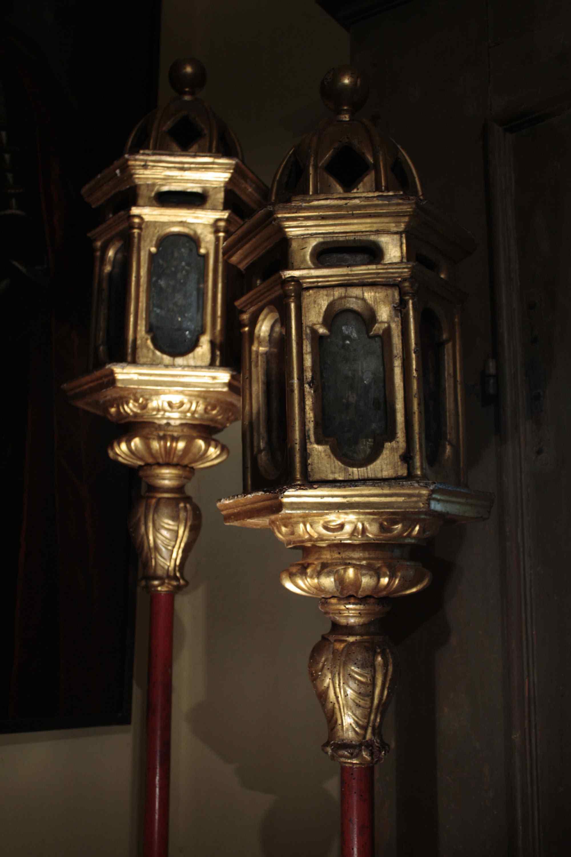Coppia di lampioni sec. XVI