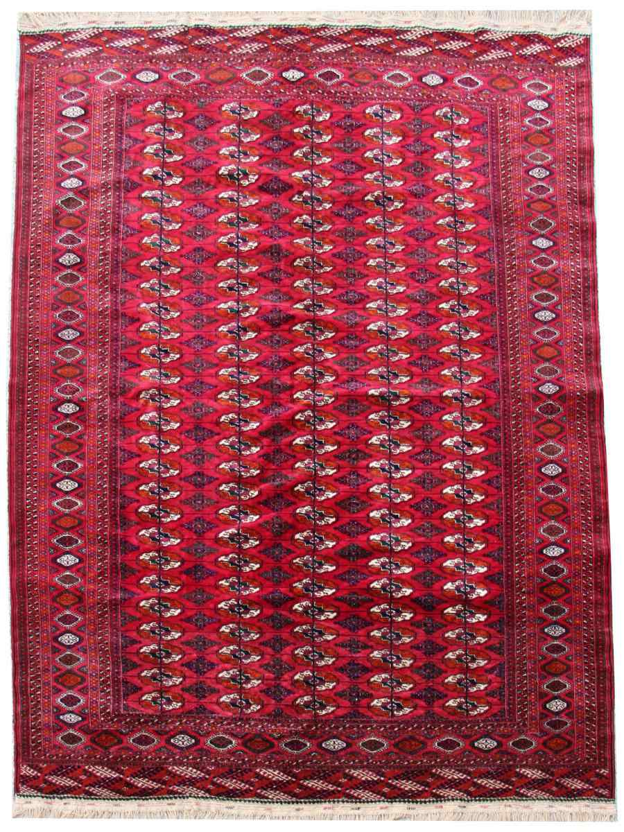 Tapis Tekke - Boukhara Russe Qualité Extra Fin Vers 1930