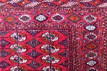 Tapis Tekke - Boukhara Russe Qualité Extra Fin Vers 1930-5