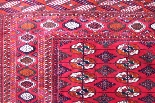 Tapis Tekke - Boukhara Russe Qualité Extra Fin Vers 1930-1