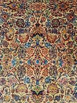 Качан Dabir ковер - Иран 1930 - 20-й-4