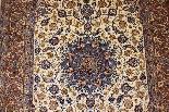 Iran Tappeto Isfahan Nentechari lana e seta firmata da 1960-3