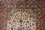 Iran Tappeto Isfahan Nentechari lana e seta firmata da 1960-2