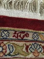 Hereke seta e d'oro filo di qualità firmato Extra Fine-2