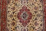 Isfahan Tappeto Firmato Davari - L'Iran Intorno al 1970 20-3