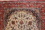 Isfahan Tappeto Firmato Davari - L'Iran Intorno al 1970 20-2