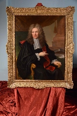 Great Portrait of Magistrate Hyacinthe RIGAUD  XVIIIth-6