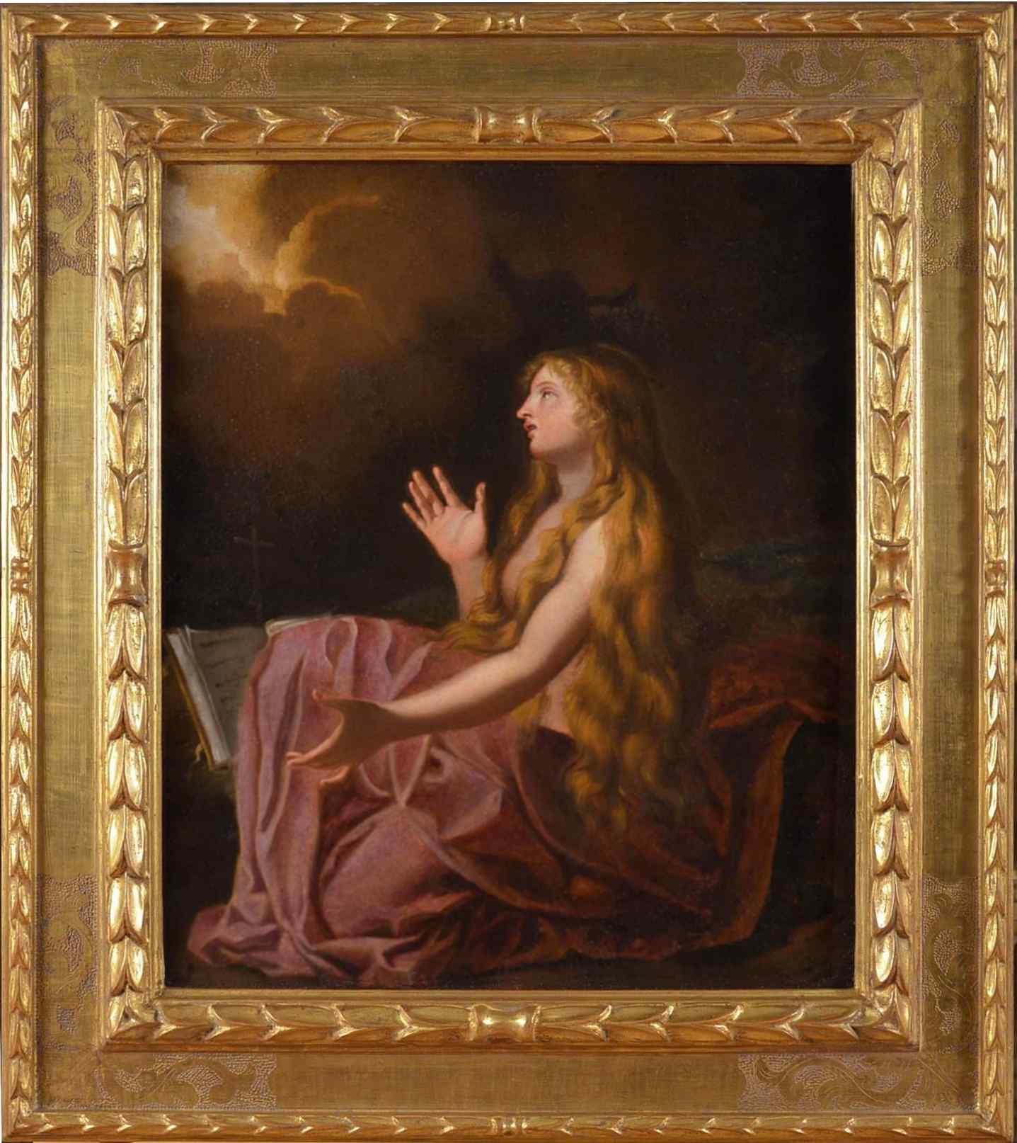Мария Маддалена, старая живопись семнадцатого века