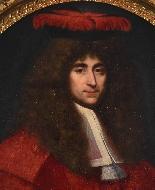 XVIIth Century Portrait, Jean de TROY 1638 - 1691-1