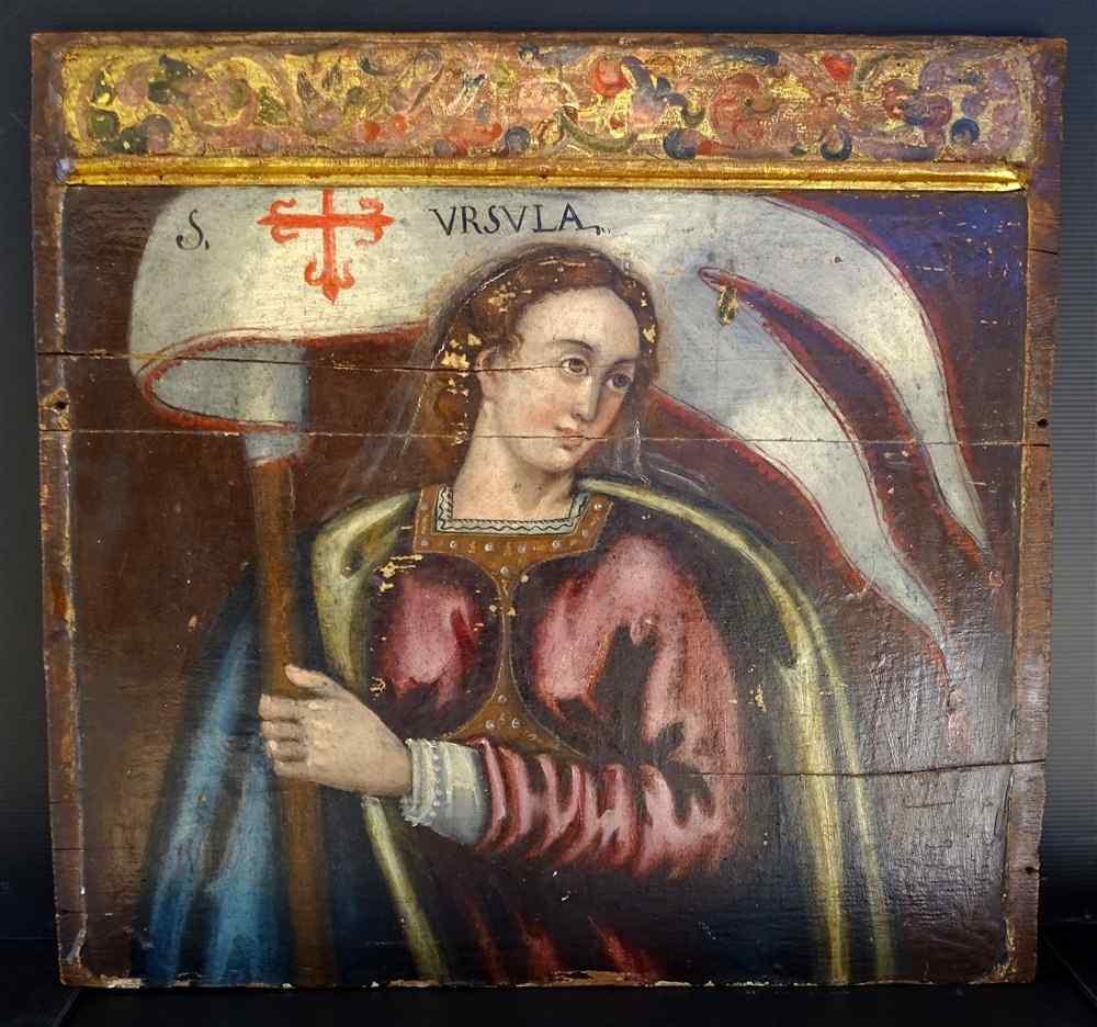 Фрагмент алтаря в честь святого Урсула, XV-XVI века