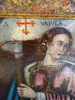 Фрагмент алтаря в честь святого Урсула, XV-XVI века-4
