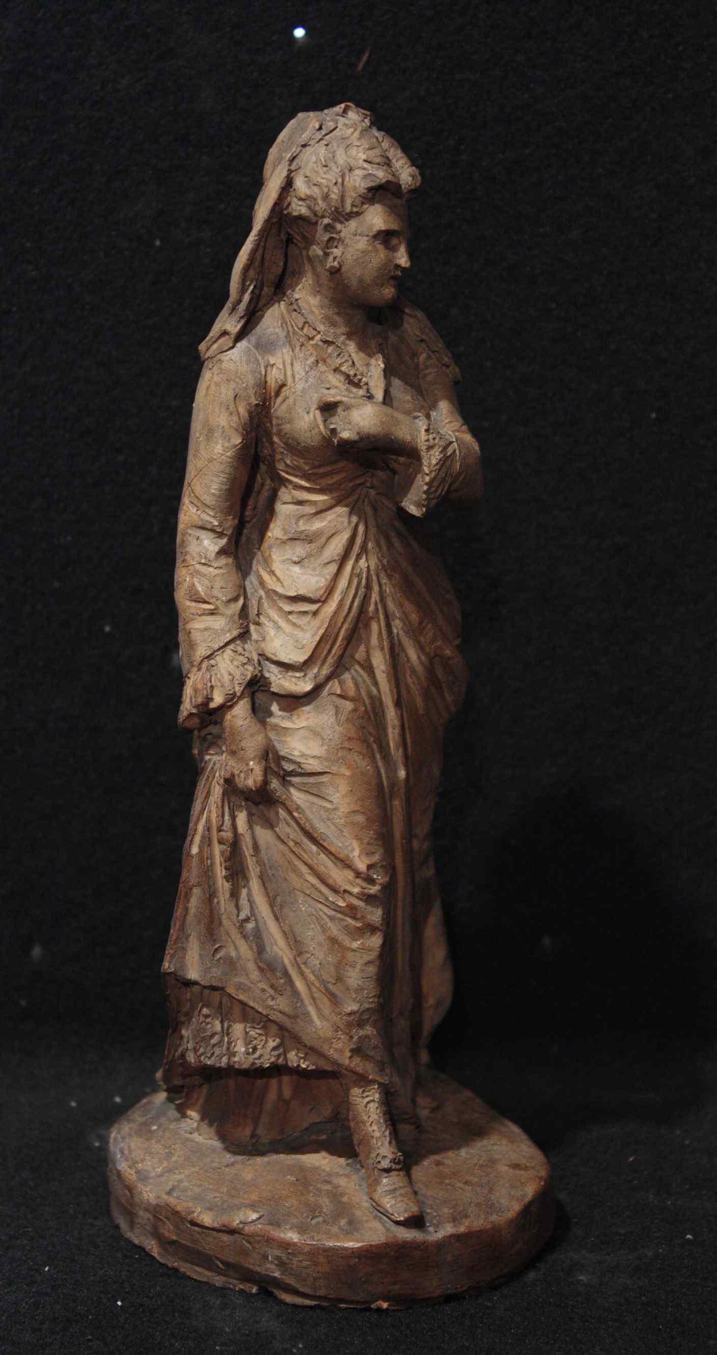 Фокарди Джованни (Флоренция 1848-1903) - Леди на прогулке