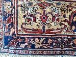 Tabriz soie -djaffer (perse) Vers 1870 Iran exceptionnel-4