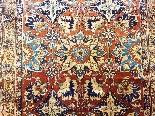 Tabriz soie -djaffer (perse) Vers 1870 Iran exceptionnel-2