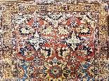 Tabriz soie -djaffer (perse) Vers 1870 Iran exceptionnel-1