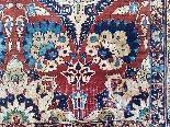Tabriz soie -djaffer (perse) Vers 1870 Iran exceptionnel-5