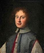 Stunning 19th Portrait of nobleman, Dutch school-1