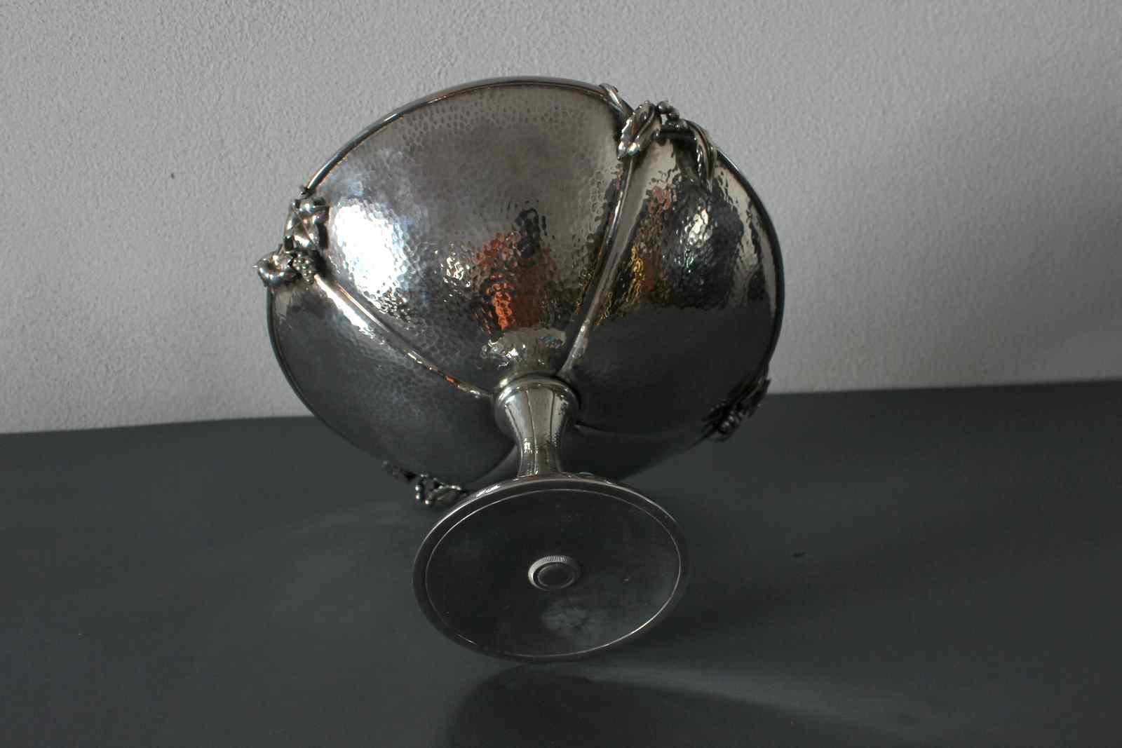 Centrotavola argento