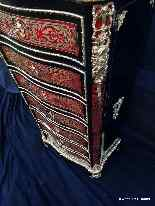 Furniture with 7 drawers in Boulle marquetry 19th  Napoleon-8