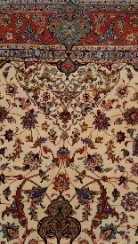 Carpets Tabriz Wool And Silk Signed - About 1970 Shah Period-2