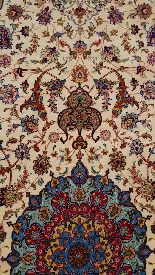 Carpets Tabriz Wool And Silk Signed - About 1970 Shah Period-3