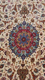 Carpets Tabriz Wool And Silk Signed - About 1970 Shah Period-4