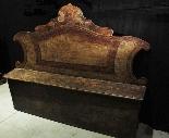лакированная скамья Sec. XVII-1