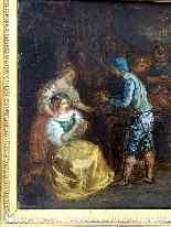 Scuola francese all'inizio del XIX Taverna Scene-6