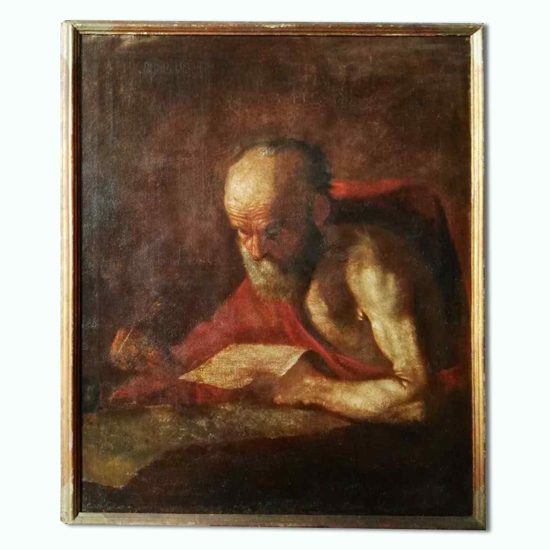Картина святого Иеронима, в семнадцатом веке