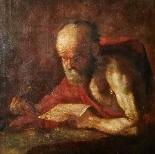 Картина святого Иеронима, в семнадцатом веке-1