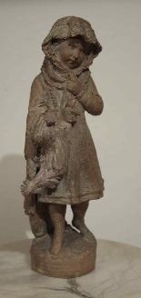 Fille avec coq - Andreini Ferdinando-1