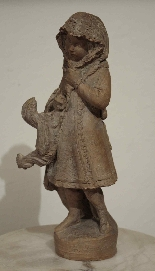 Fille avec coq - Andreini Ferdinando-2