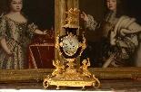 Pendule en bronze doré d'époque Napoléon III du XIXe siècle-1