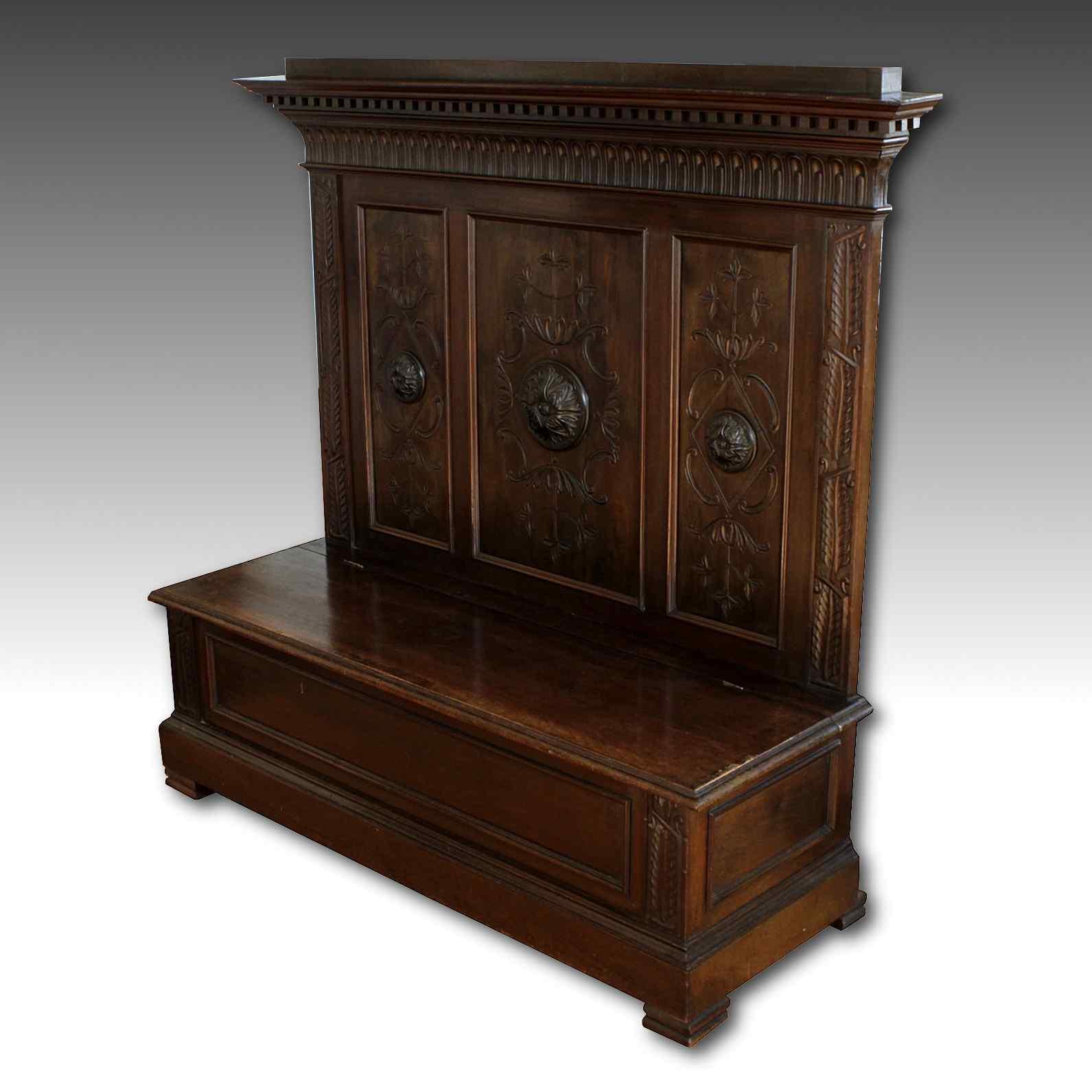 banc avec coffre fashion designs. Black Bedroom Furniture Sets. Home Design Ideas