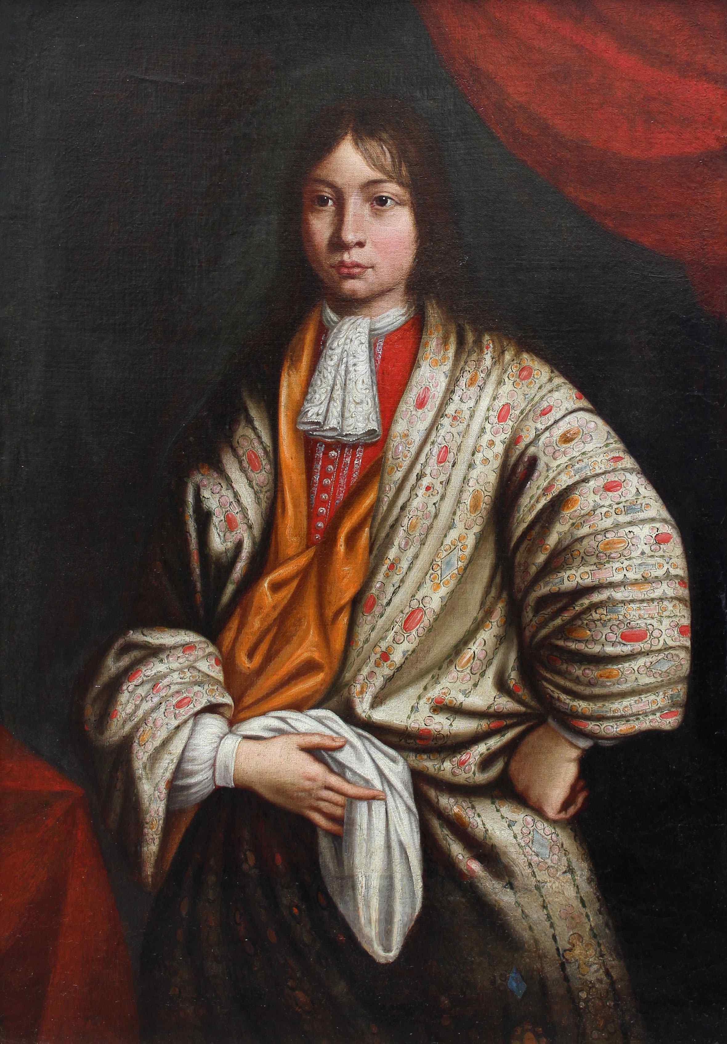 Sebastiano Bombelli, Ritratto di giovane in veste da camera