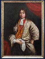 Sebastiano Bombelli, Ritratto di giovane in veste da camera-0
