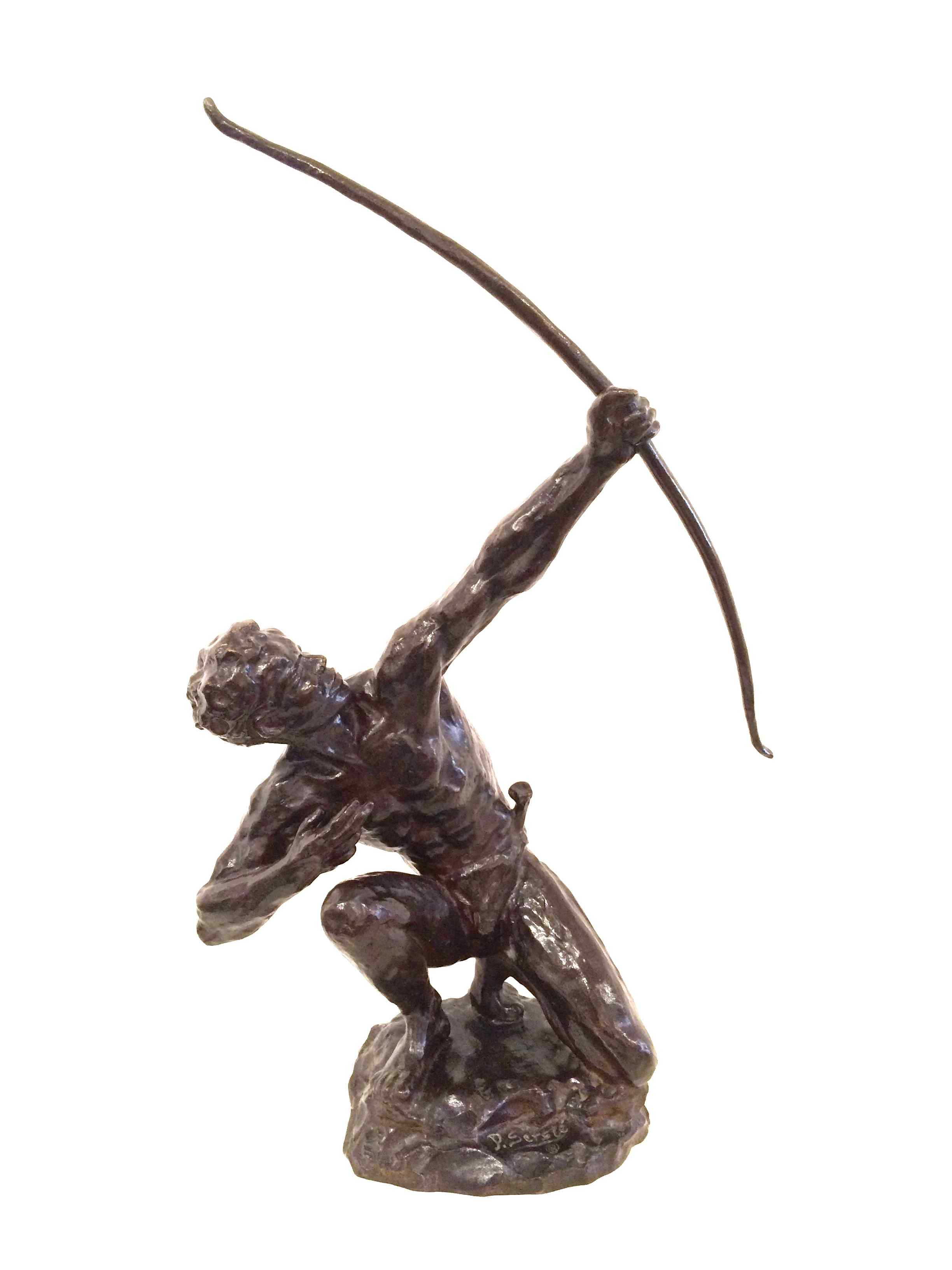 African archer by Paul Serste. born 1910