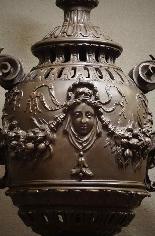 Très Important Pied de Lampe à Gaz XIXème-2