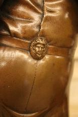 Le Chanteur Florentin, Bronze De Paul Dubois-8