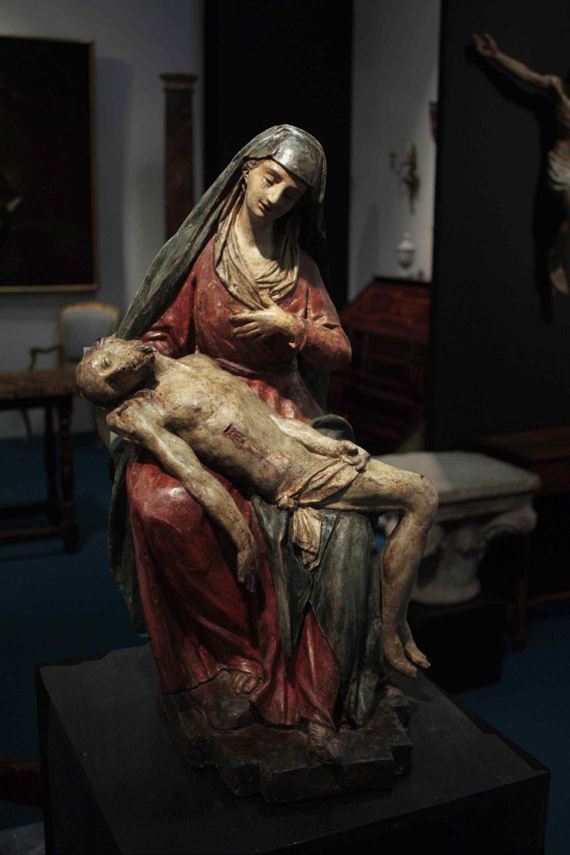 Pietà in terracotta Sec. XVI