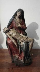 Pietà in terracotta Sec. XVI-2