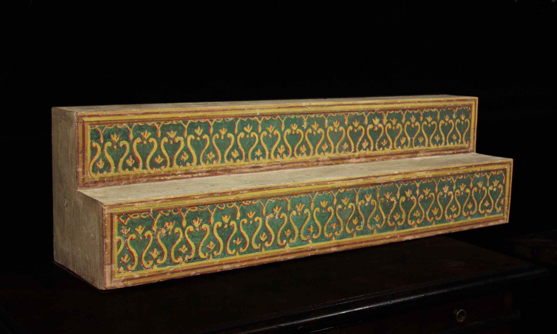 Lacquered shelf XVIII century