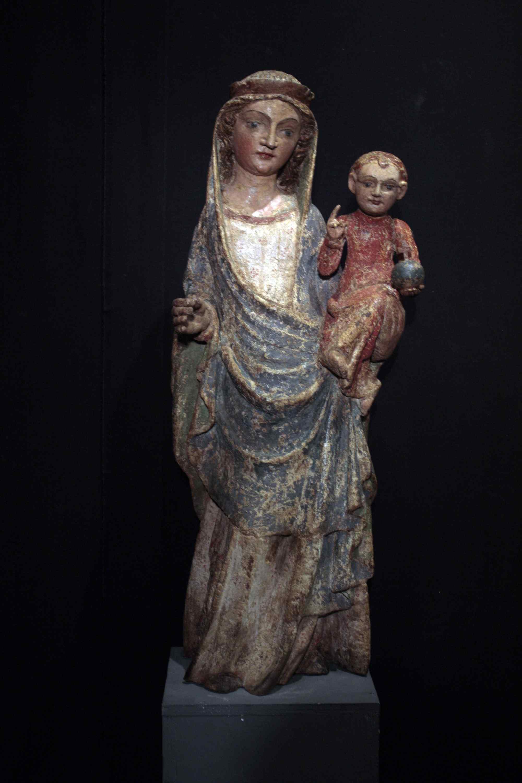 Vierge à l'Enfant Sec. XV