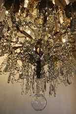 Бронзовые люстры и Баккара кристалл с 18 огнями, девятнадцатыми-13
