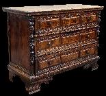 Бергамо, XVII век Walnut Dresser-0
